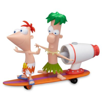 Phineas & Ferb Surfin' Tidal Wave Figurine Play Set